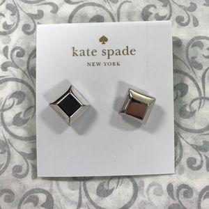 Silver Kate Spade Earrings